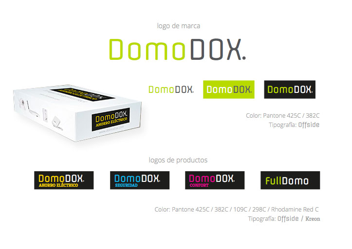 Identidad Corporativa DomoDOX