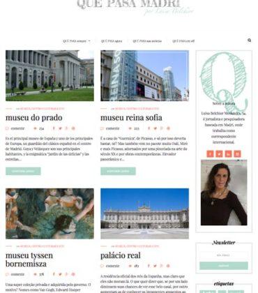 Blog profesional y agenda de ocio de Madrid