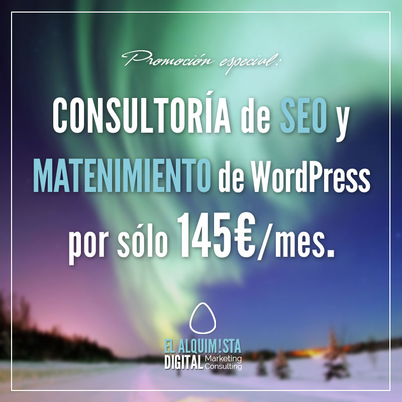 Consultoría de SEO y Mantenimiento de WordPress